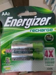 Pilha recarregável Energizer AA2