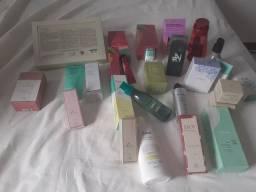 Liquidação de perfumes natura e boticário
