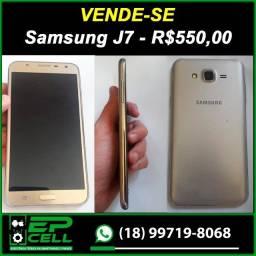 Samsung J7 - Muito novo