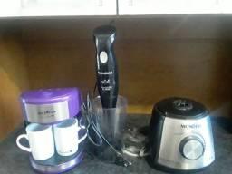 Vendo mix + parte de baixo de liquidificador +cafeteira