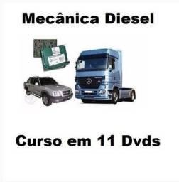 Título do anúncio: Mecânica Diesel Completa em Video 11 Dvds