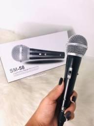 Título do anúncio: Microfone sm58 - Novo