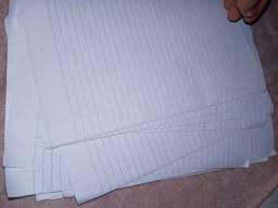 Folha de Papel almaço
