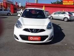 Nissan March 2019 1.6 sv 16v flexstart 4p manual