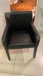 Cadeira para trocar estofado