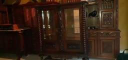 Cristaleira Relíquia Antiguidade Portuguesa 200 anos