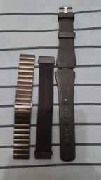 Título do anúncio: Galaxy Watch 3 45 MM com LTE c/ 3 pulseiras extra