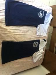 Camisa do colégio São Jorge tamanho 16 valor 20 cada uma