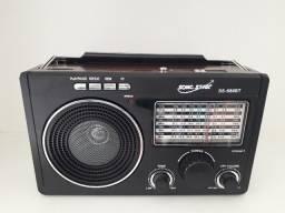 Rádio retrô AM/FM em Maracanaú (loja)