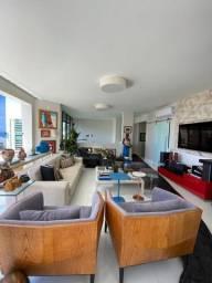 Apartamento Cobertura Pituba 4 suítes 420m2 Decorada Nascente Jardin Versailles