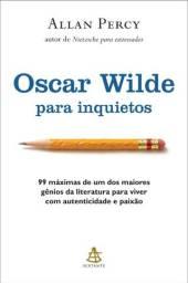 Título do anúncio: Oscar Wilde para inquietos   Allan Percy