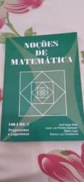 NOÇÕES DE MATEMÁTICA - VOLUME 2 - PROGRESSÕES E LOGARITMOS
