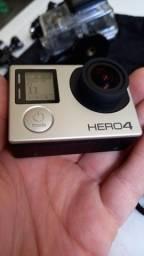 Gopro hero 4 funciona perfeita (aceito cartão) $699