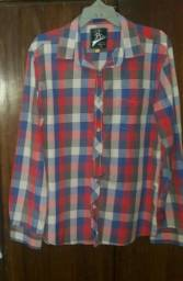 Camisa xadrez pool masculina veste G -estado de nova