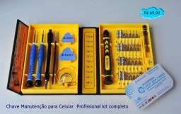 Chave Manutenção para Celular  Profissional kit completo  (Entra Grátis)