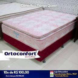 Cama padrão de molas ensacadas / entrega Grátis -- cama padrão de molas
