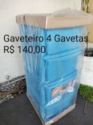 Gaveteiro 4 gavetas