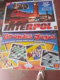 Jogo interpol mais 5 jogos em 1