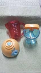 Kit Mini liquidificador e mini processador