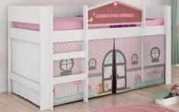 Cama infantil casinha