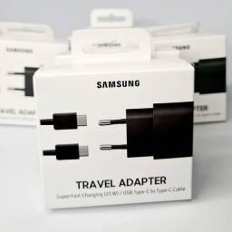 Carregador Samsung Super rápido, 25W, Original, Lacrado, compatível com iphone