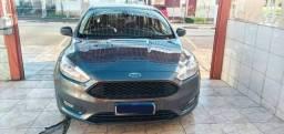 Ford Focus Se Plus 1.6 Completo  2018 Impecável - Cinza raríssimo de achar nessa cor