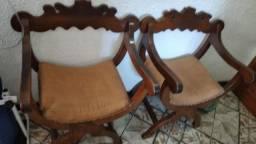 Cadeiras namoradeiras madeira de lei