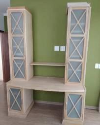 Título do anúncio: Escrivaninha/estante em perfeito estado de conservação