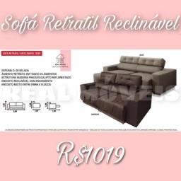 Título do anúncio: Sofá sofá sofá retrátil reclinável 2Lugares
