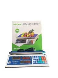 Balança digital eletrônica comercial bivolts 40 kilos melhor preço novo na caixa