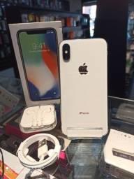 Vendo iPhone X 256G impecável