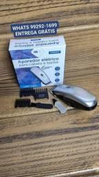 Título do anúncio: Aparador elétrico para pelos e barba.