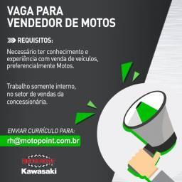 Título do anúncio: Vaga para Vendedor de Motos
