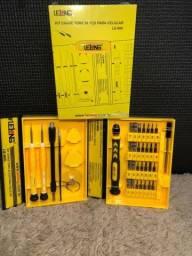 Título do anúncio: Kit Ferramentas 38 Chaves Celular Tablet Notebook Relógio Pc