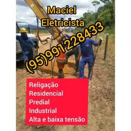Título do anúncio: Eletricista Maciel Eletricista