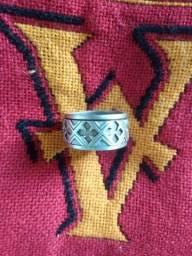 Anel prata 925 Duplo Giratório
