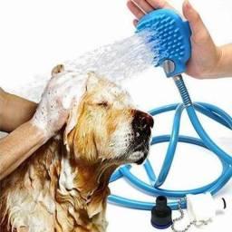 Título do anúncio: Mangueira Luva De Banho e Massagem Petshop Cães E Gatos PRONTA ENTREGA<br>?