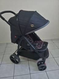 Carrinho e bebê conforto cosco travel system