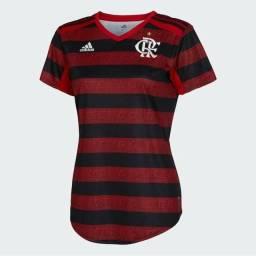Promoção !!!<br>Camisa Feminina Original Flamengo Adidas