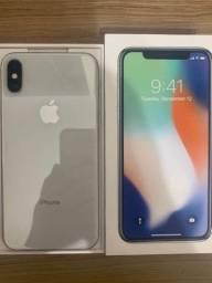 iPhone X - 64gb - Prata