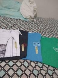 Várias camisas Taco