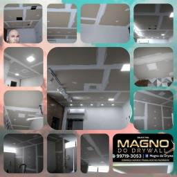 Forro Drywall ou PVC ( A Partir $15 M² )