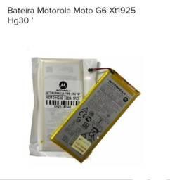 Título do anúncio: Bateria HG30 Moto G6 R$99,00