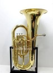 Tuba Jupiter JCB376 Mib 4 Pistos Semi-Nova