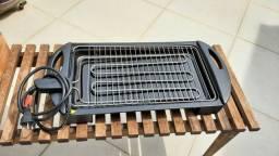 Churrasqueira elétrica Fischer Grill  1900 W - 127 V (semi nova - utilizada uma vez)