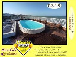 Título do anúncio: Manaíra, Mobiliado, 2 quartos, 55m², R$ 2.500 C/Cond, Aluguel, Apartamento, João Pessoa