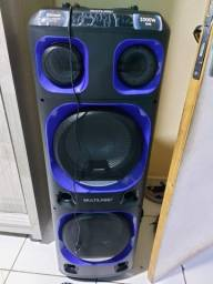 Caixa de Som Amplificada Multilaser SP343 Mini Torre
