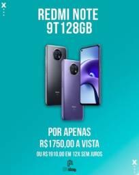 Título do anúncio:   Xiaomi Redmi Note 9t 5g 128gb 4g Ram Lacrado a pronta entrega (Ac.cartão)