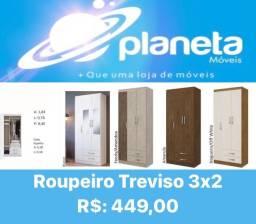 Título do anúncio: ROUPEIRO TREVISO 3X2 PROMO // AQUÁRIO AQUÁRIO