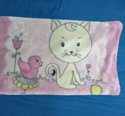 Cobertor Jolitex para bebê Menina